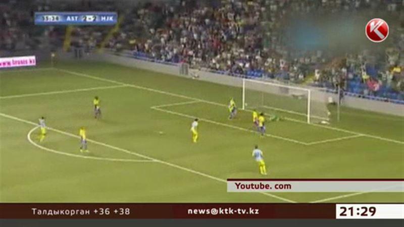 «Астана» вышла в раунд плей-офф Лиги чемпионов
