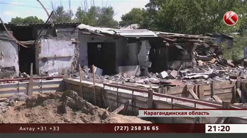 Пострадавшие от паводка в Карагандинской области могут остаться без домов