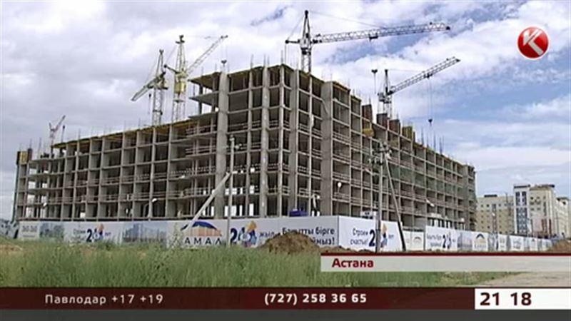 В Астане с 8 этажа сорвался строитель