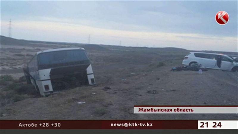 В Жамбылской области погибли граждане Кыргызстана