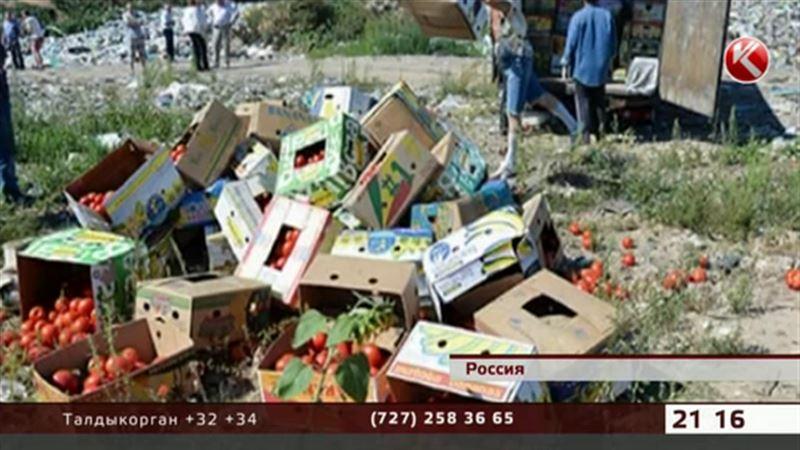 Российские чиновники добрались до овощей из Казахстана