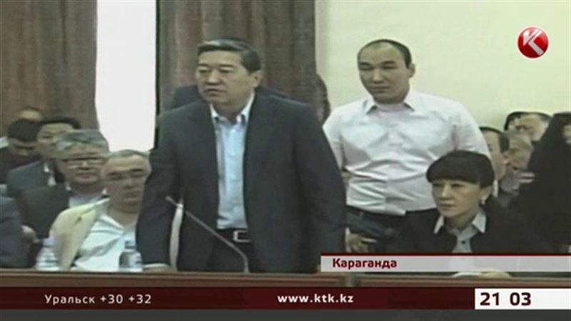 Экс-аким Карагандинской области на суде выяснял, что такое глаза народа