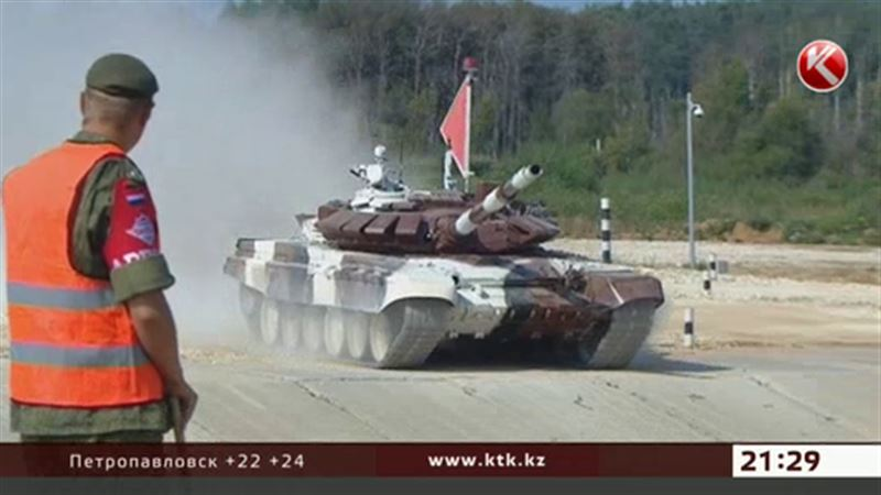 Казахстанские танкисты в числе сильнейших