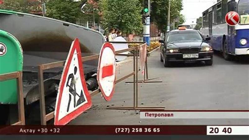 Петропавлда Путин жүреді-ау деген көшелер ғана жөнделуде