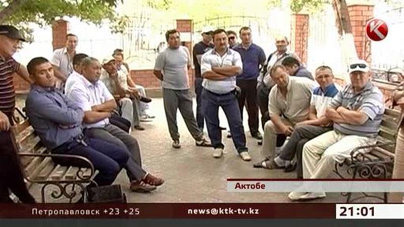 В Актюбинской области массово увольняют нефтяников