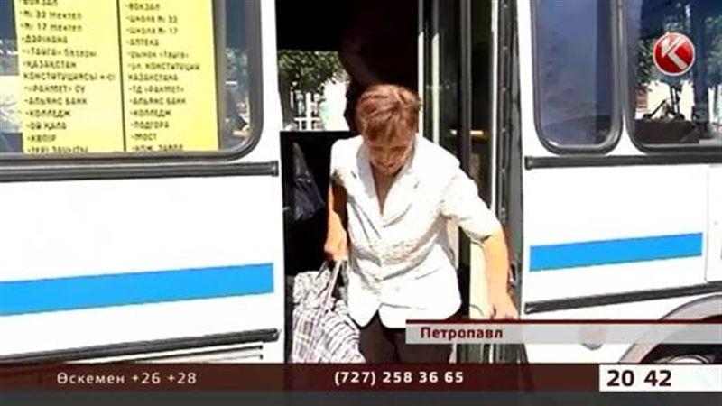 Петропавл: Шенеуніктер автобуста орын бермейтін жастарды тәрбиелеуге кірісті