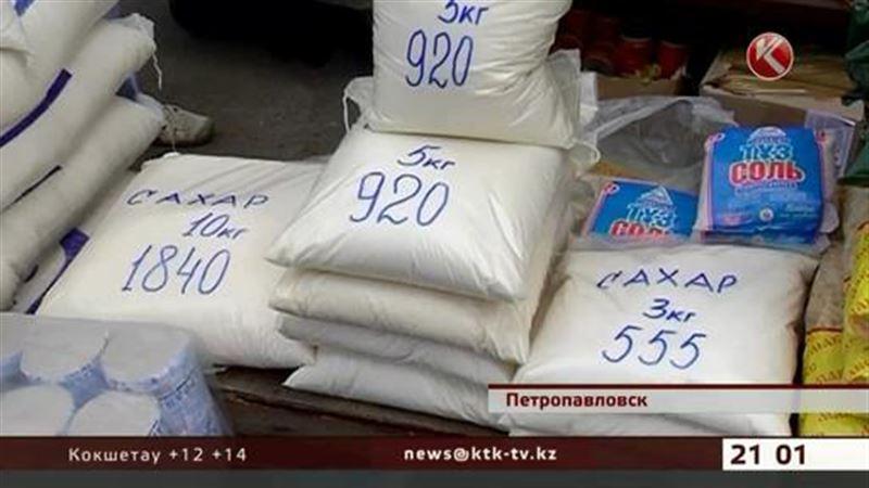 В Петропавловске, Усть-Каменогорске и Таразе из продажи исчез сахар