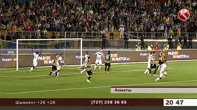 «Қайрат» футбол клубы Еуропа лигасының топтық кезеңіне өте алмады