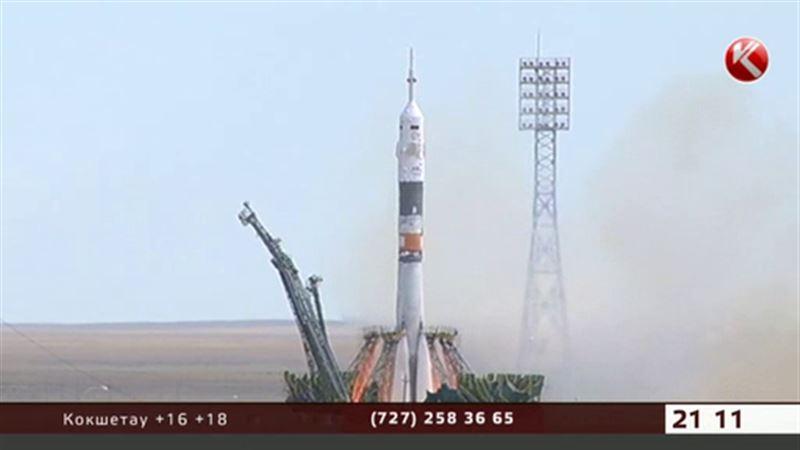 «Союз» c казахстанским космонавтом едва не столкнулся с фрагментом ракеты