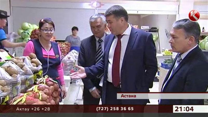 Колбаса в столичных магазинах отреагировала на приход чиновников