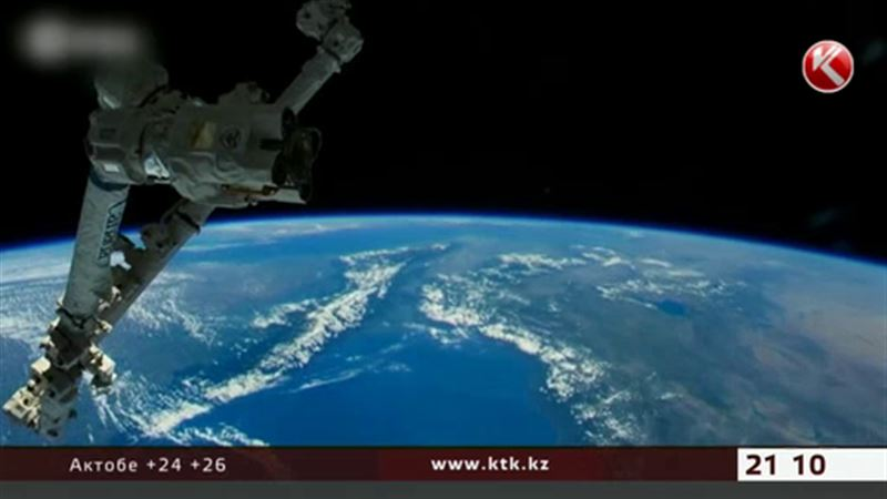 Казахстанец Айдын Аимбетов добрался до МКС
