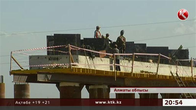 Алматы-Қапшағай арасындағы ақылы тасжолдың басым бөлігі аяқталуға жақын