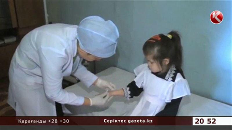 Ақтөбеде балаларын туберкулезге қарсы ектіруден бас тартатындар көбейген