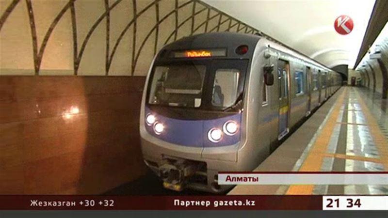 В алматинском метрополитене появятся четыре новых состава