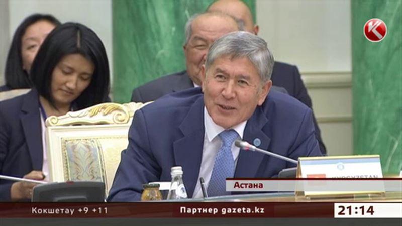 Атамбаев уговаривал Назарбаева приехать на Иссык-Куль