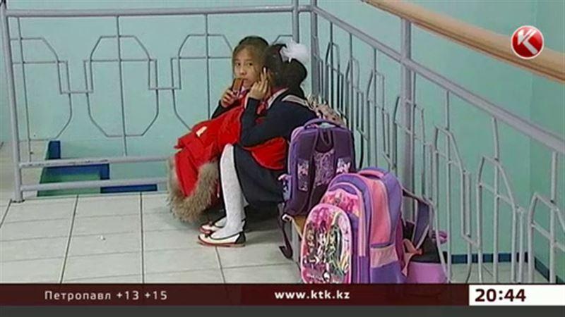Астанада мектеп оқушылары сыныптасын сабап тастады