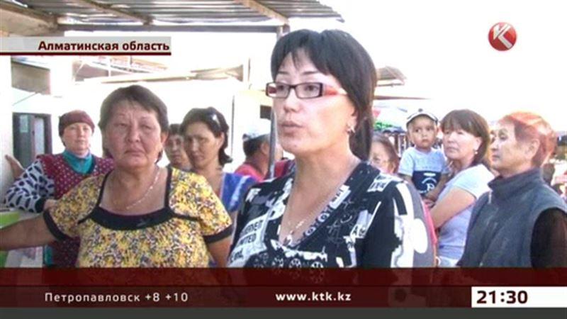 Торговцы не хотят отдавать территорию под трассу Алматы - Усть-Каменогорск