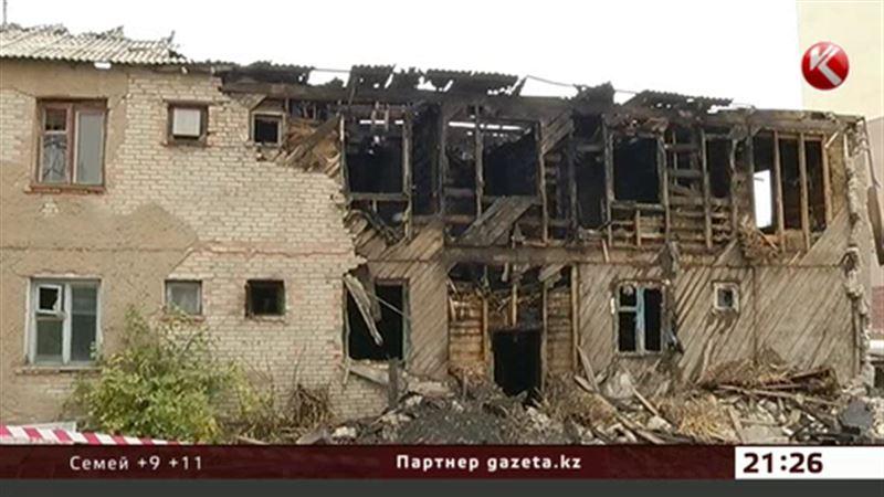 Пожар в Астане унес жизни двух человек