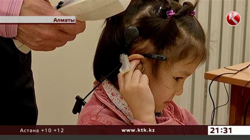 Уже 8 лет в Казахстане бесплатно оперируют слабослышащих детей