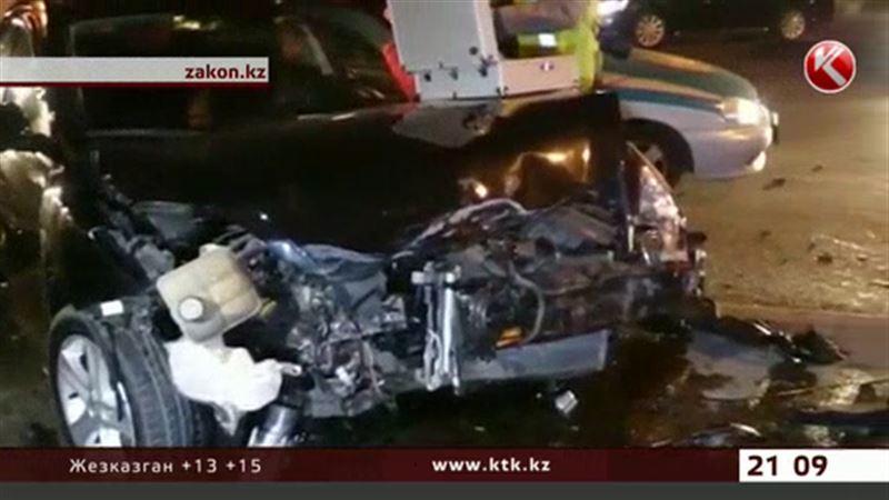 В Алматы жуткая авария унесла жизни двух женщин