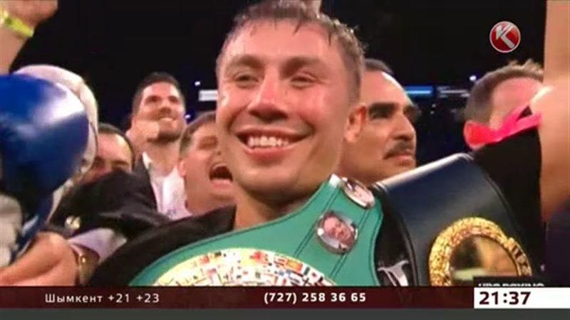 Казахстанец Геннадий Головкин признан лучшим боксёром мира