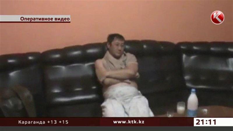 Полуголые казахстанцы попали в руки бишкекской милиции