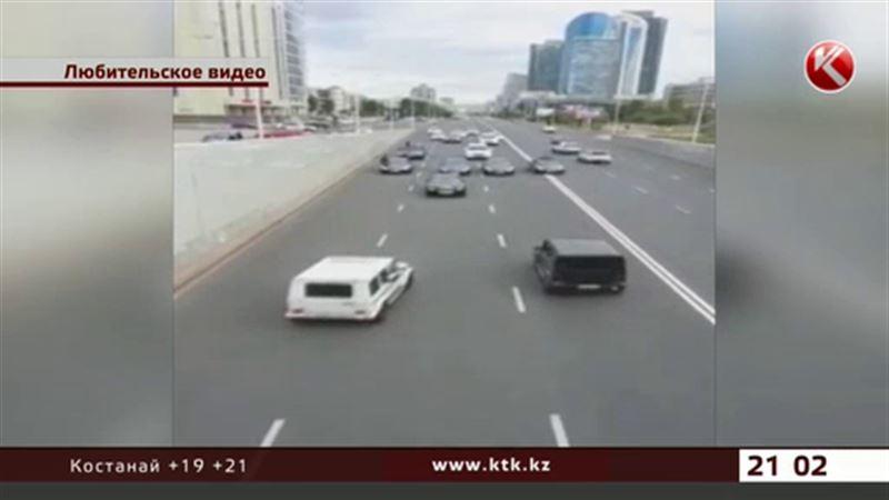 Участники «свадебных» маневров на дорогах Астаны задержаны