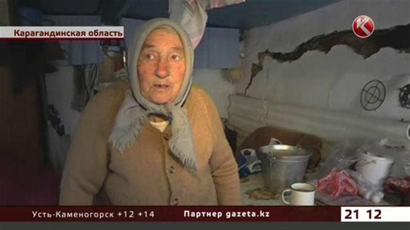 Пострадавшие от паводка жители Карагандинской области встречают морозы в сараях