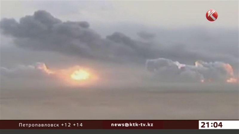 Российская авиация бомбит позиции ИГИЛ в Сирии