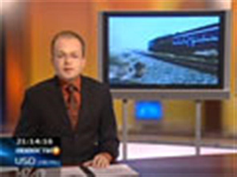 Степной пожар в Актюбинской области едва не парализовал работу железной дороги