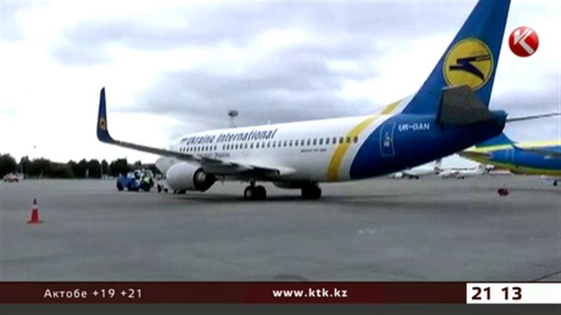 Из-за закрытия авиарейсов между Россией и Украиной казахстанцы не пострадают