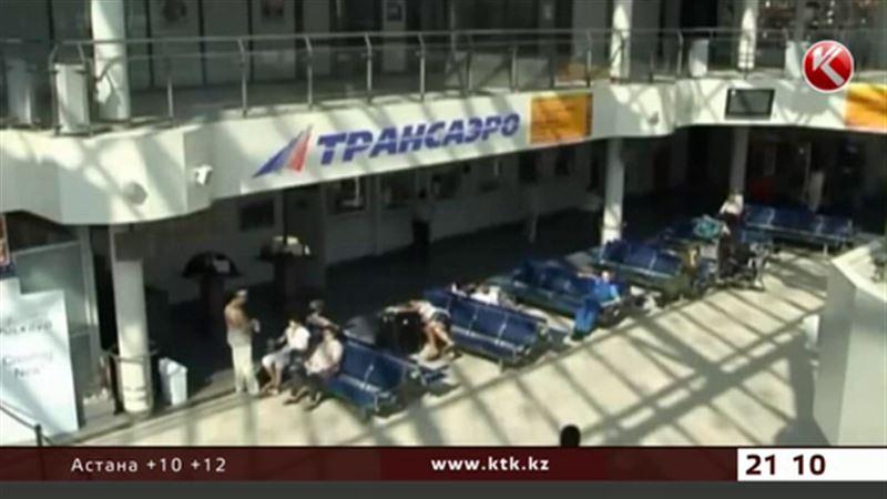 В Казахстане приостановили продажу билетов на рейсы «Трансаэро»
