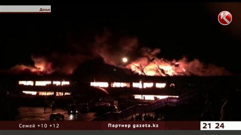 Алматинские активисты обвиняют пожарных в бездействии