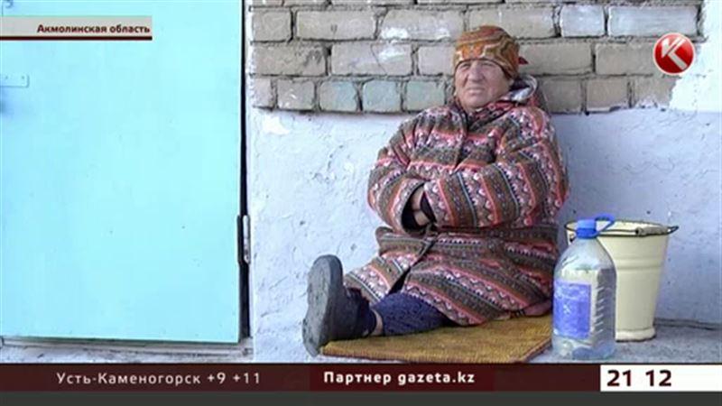 Жители целого поселка в Акмолинской области остались без воды и тепла
