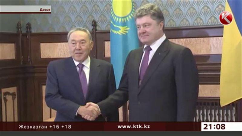 В Казахстан  едет Петр Порошенко