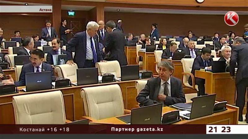 Казахстанские мажилисмены готовы к отставке