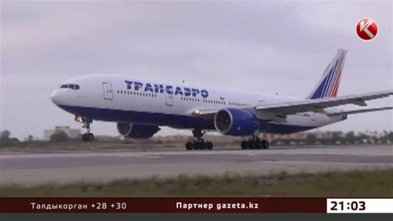 Клиенты «Трансаэро» ждали вылета из Актау 34 часа