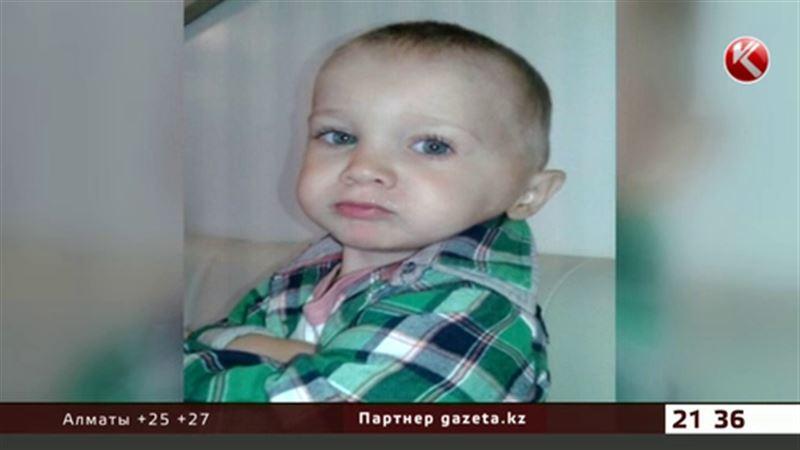 В Алматы родители борются за жизнь 2-летнего сына