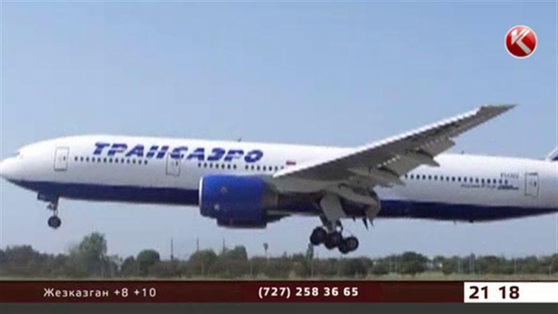 «Трансаэро»  отменяет сразу 38 рейсов