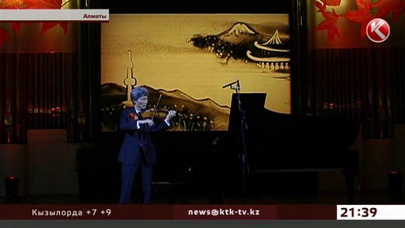 В Алматы пришла «Японская осень»