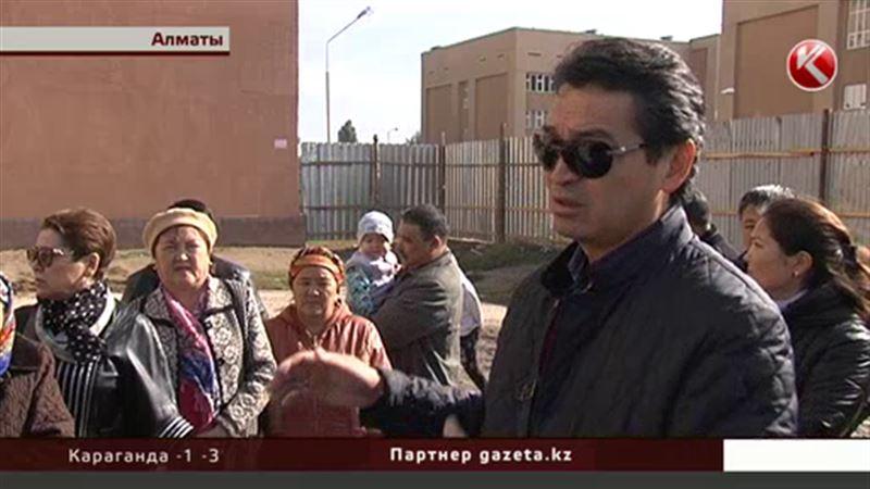 Жители Алматы выступили против новостроек