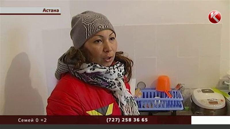 Сотни жителей Астаны встречают первые холода в ледяных квартирах