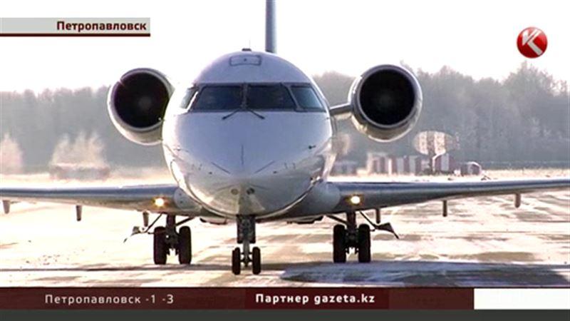 После ремонта взлетной полосы из Петропавловска вылетели два пассажира
