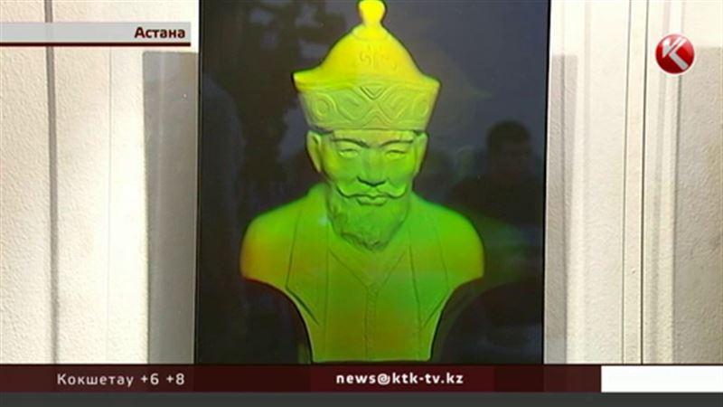 Голографические изображения казахских ханов презентовали в Астане