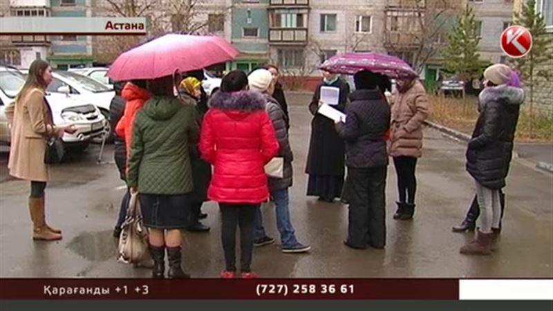 Астанада Парламент пен Жоғары сот қызметкерлері қирағалы тұрған үйде өмір сүріп жатыр