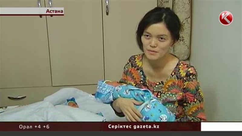 Астанада ұлы хандар  Керей мен Жәнібектің есімін иеленген егіздер қоймада тұрып жатыр