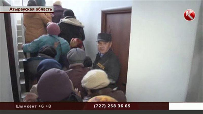 Атырауские торговцы прорвались в акимат и едва не набросились на чиновников