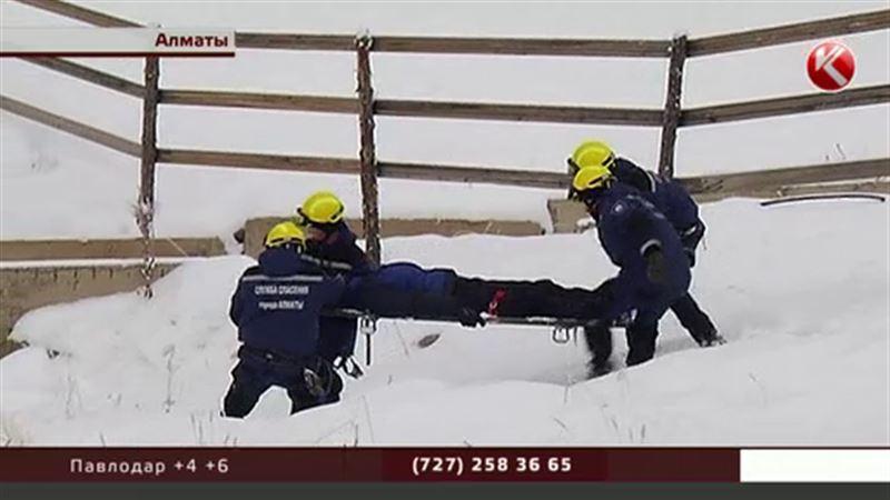Спасатели рассказали, какие опасности поджидают посетителей Шымбулака