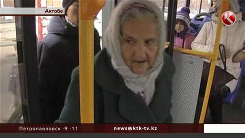 Актюбинским пенсионерам можно ездить на автобусе только 20 раз