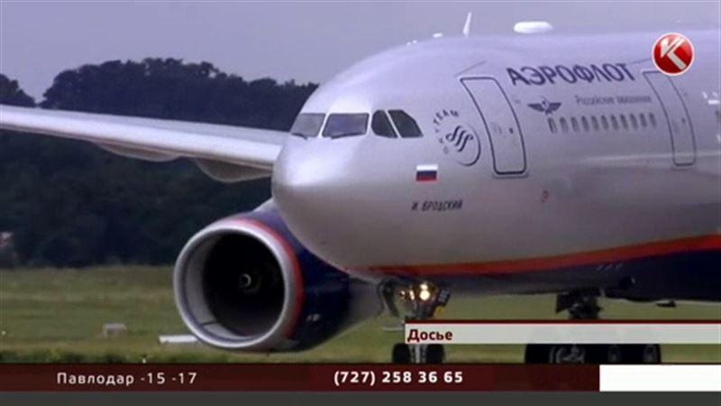 Российские авиакомпании не будут пополнять запасы в аэропортах Казахстана